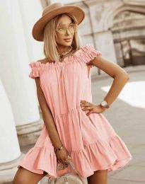 Šaty - kód 6969 - broskvová