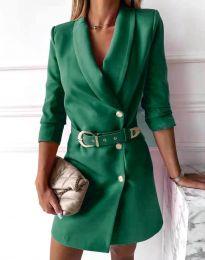 Šaty - kód 9257 - zelená
