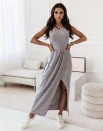Šaty - kód 8834 - šedá