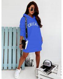 Šaty - kód 802 - modrá