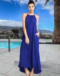Šaty - kód 6999 - modrá
