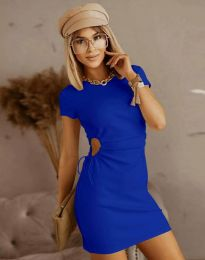 Šaty - kód 8556 - modrá