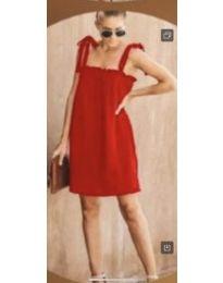 Šaty - kód 482 - červená