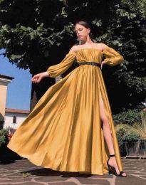 Šaty - kód 1879 - hořčičná