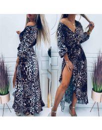 Šaty - kód 5454 - 2 - vícebarevné