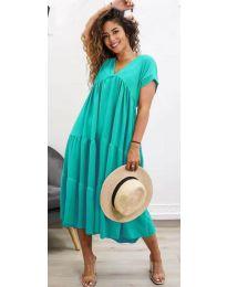 Šaty - kód 4475 - mentolová