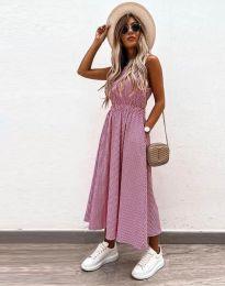 Šaty - kód 2687 - růžová