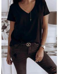 Tričko - kód 3638 - černá