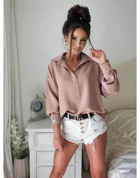 Košile - kód 9898 - pudrová