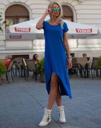 Šaty - kód 5507 - modrá