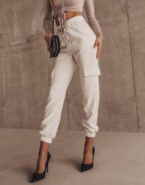 Kalhoty - kód 2985 - bílá