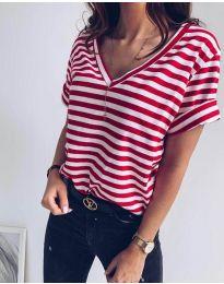 Tričko - kód 3141 - červená