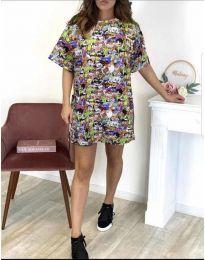 Šaty - kód 119 - vícebarevné
