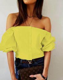 Košile - kód 3525 - žlutá