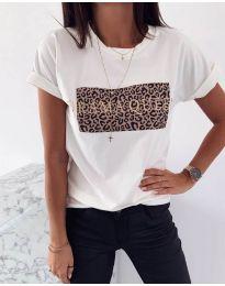 Tričko - kód 995 - 4 - bíla