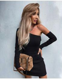 Šaty - kód 4933 - černá