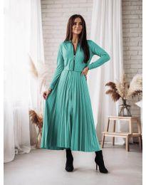 Šaty - kód 1544 - tyrkysový