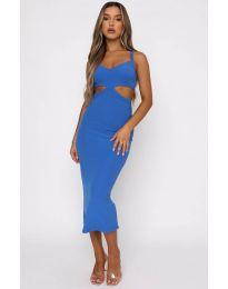 Šaty - kód 111938 - modrý