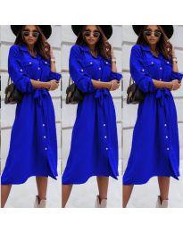 Šaty - kód 1510 - modrá
