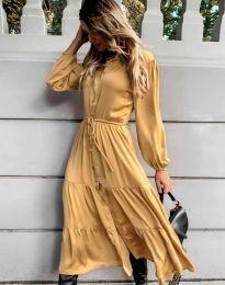 Šaty - kód 6522 - žlutá