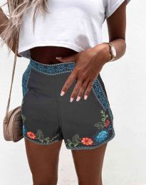Krátké kalhoty - kód 0955 - 2 - černá