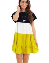 Šaty - kód 741 - žlutá