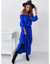 Šaty - kód 1317 - modrá