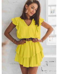 Šaty - kód 7173 - žlutá