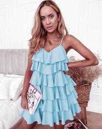 Šaty - kód 8190 - světle modrá