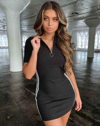 Šaty - kód 2912 - 1 - černá
