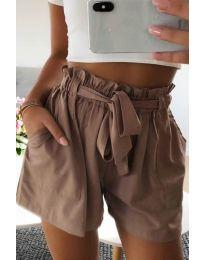 Krátké kalhoty - kód 3637 - hněda