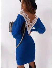 Šaty - kód 1718 - tmavě modrá