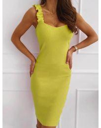 Šaty - kód 029 - neon žuta
