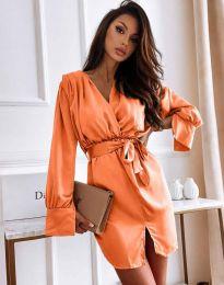 Šaty - kód 2741 - oranžový