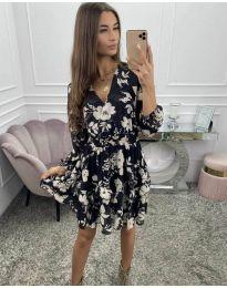 Šaty - kód 5589 - černá