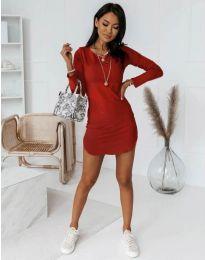 Šaty - kód 8856 - červená