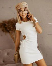 Šaty - kód 8556 - bíla