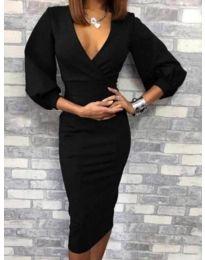Šaty - kód 4526 - 1 - černá