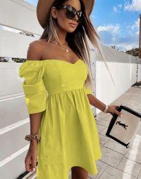 Šaty - kód 7413 - žlutá