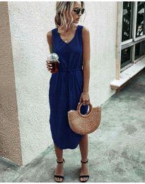 Šaty - kód 681 - tmavě modrá