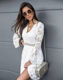 Šaty - kód 6239 - bíla