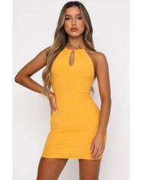 Šaty - kód 11936 - žlutá