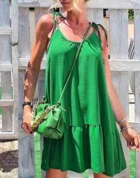 Šaty - kód 6589 - zelená