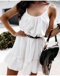Šaty - kód 7768 - bílá