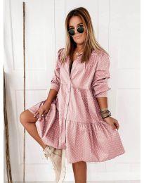 Šaty - kód 5557 - růžová