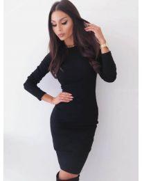 Šaty - kód 3524 - černá