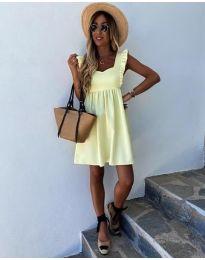 Šaty - kód 818 - žlutá