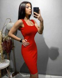 Šaty - kód 10300 - červená