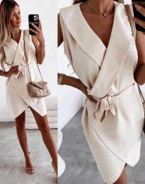 Šaty - kód 7793 - bežová