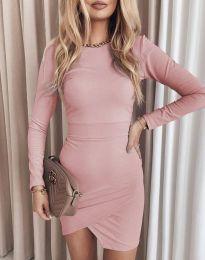 Šaty - kód 2835 - růžova
